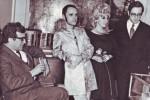 Luciano Berio, Sylvano Bussotti, Cathy Berberian, and Marcello Panni