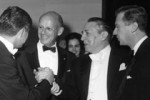 Leonard Rose, William Schuman, Jean Morel, and William Bergsma