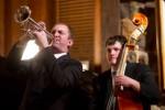Trumpeter Matthew Jodrell and bassist John Tate