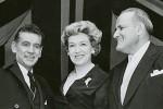 Leonard Bernstein, Risë Stevens, and Leonard Warren