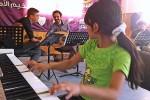 Taq Win playing piano