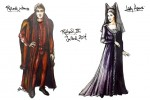 Richard III Costume Sketches