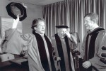 Honorary Degree Recipients Robin Williams and Isaac Stern