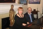 Vladimir Shinov and Marina Porchkhidze