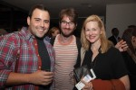 Laura Linney with Juilliard students