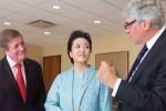 Joseph W. Polisi, Peng Liyuan, Bruce Kovner