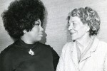 Leontyne Price and Florence Page Kimball
