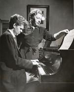 Van Cliburn and Rosina