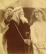 King Lear Allotting His Kingdom to His Three Daughters (1872)