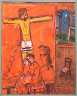 The Artist With Yellow Christ (1938)