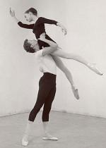 Pina Bausch and Koert Stuyf