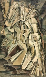 Marcel Duchamp, Nude Descending a Staircase (No. 2) (1912)