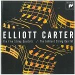 Elliot Carter's String Quartets (Sony Classical 88843033832)