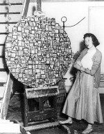 Lee Krasner with Stop and Go