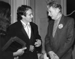 Robin Williams and Michael Langham