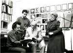 Dorothy De Lay, William Schuman, Jorge Meister, Robert McDuffie