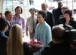 Peng Liyuan visits Juilliard