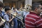 Trombone flash mob