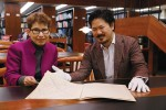 Jane Gottlieb and Ray Iwazumi