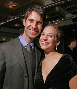 Jennifer Zetlan and David Shimoni