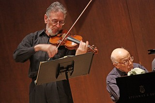 Ron Copes, Violin, and Seymour Lipkin, Piano