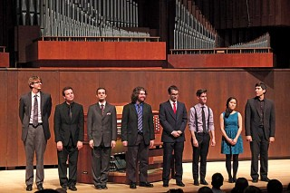 Juilliard organ students
