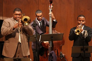 Juilliard Jazz Ensembles with Wycliffe Gordon