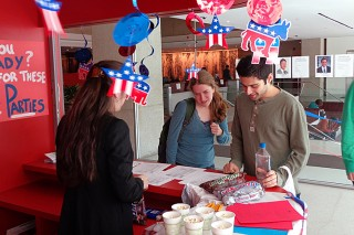 Election Information Event October 3, Morse Student Lounge