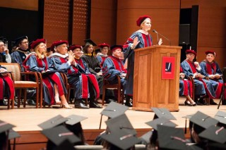 Joyce DiDonato gives commencement speech