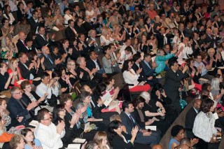 Crowd shot at Commencement