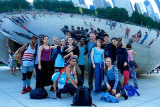 Juilliard Students at the Chicago Dancing Festival in August