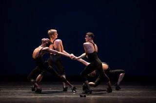 "First-year dancers in Austin McCormick's ""La Folia"""