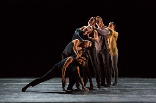 "Second-year dancers in Loni Landon's ""And Then There Was One"""