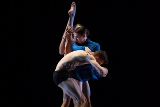 "Third-year dancers in Kate Weare's ""Night Light"""