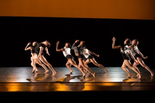 "Fourth-year dancers in Larry Keigwin's ""Exit Like an Animal"""