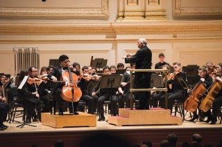 David Zinman and the Juilliard Orchestra