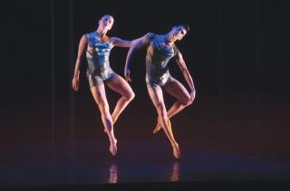 Merce Cunningham's BIPED at Juilliard