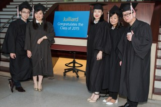 Juilliard congratulates the class of 2015