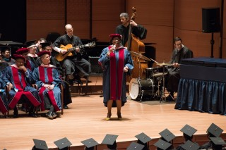 Dianne Reeves performs at Juilliard commencement