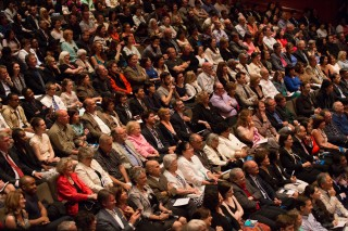 Juilliard graduation audience