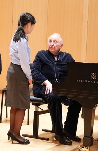 Seymour Bernstein Master Class