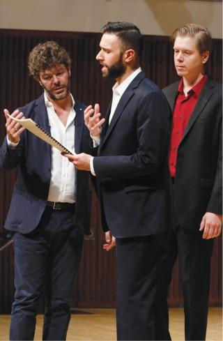 Pablo Heras-Casado, Jacob Scharfman, Andrew Munn
