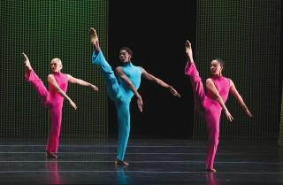 Third-year dancers