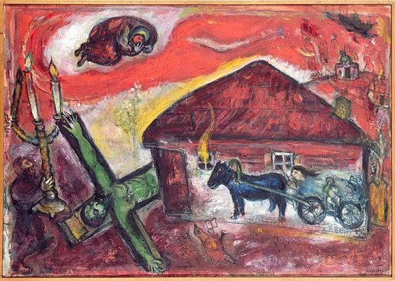 A Darker Side Of Marc Chagall