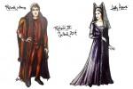 Richard III Costume Sketches