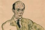 Egon Schiele: Portrait of the Composer Arnold Schönberg (1917)
