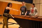 Haruka Fujii coaches mallet percussionists