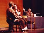 Luciano Pavarotti conducting Juilliard students