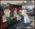 John Sloan, Sunday, Women Drying Their Hair (1912)