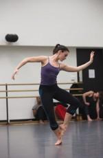 An early Juilliard rehearsal for Merce Cunningham's Biped